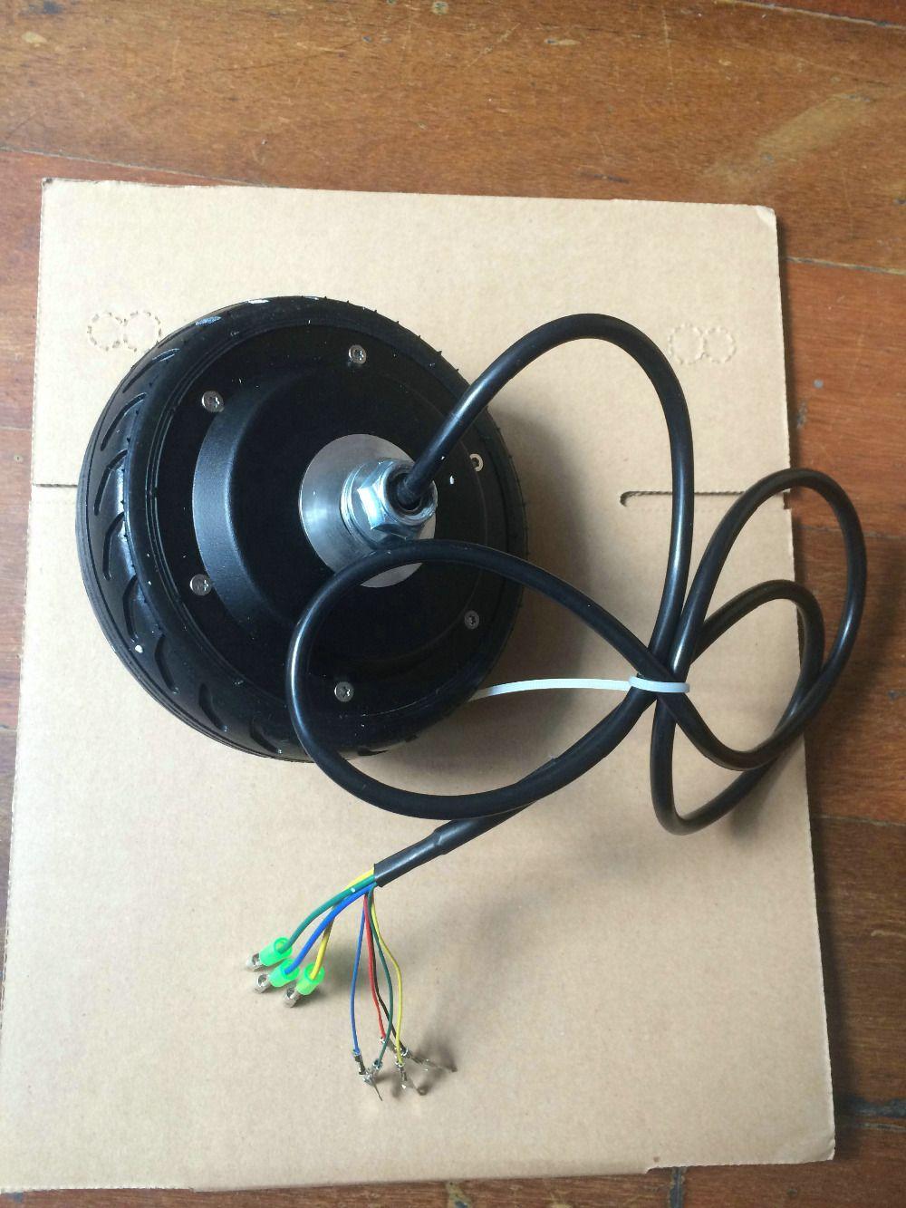Scooter elétrica ebike wheelsmotors 5 polegadas motor do cubo BLDC 24v36v 50-250 w com sensor de salão e função EBS frente / reversa