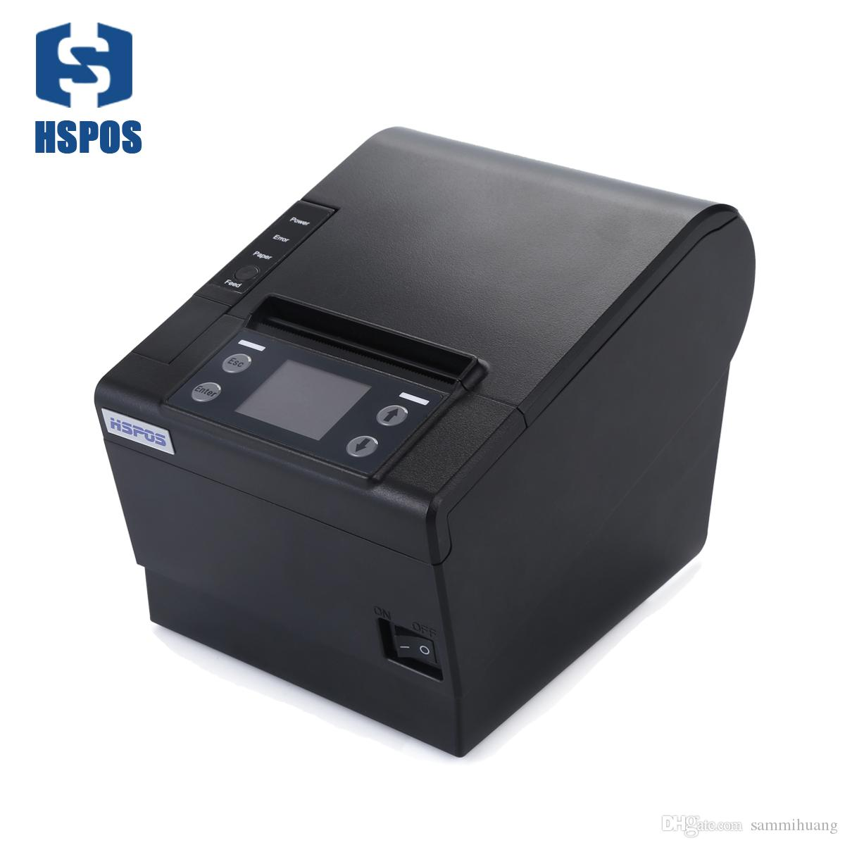 Hspos 80MM استلام الطابعة الحرارية دعم 4G LTE واي فاي لان لمطعم طلب الشراء عبر الإنترنت الطابعة HS-C830ULWG