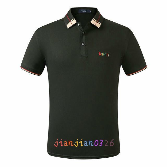 orijinal tek erkek tişört 2020 yaz yaka tişört trendi erkek polo gömlek kısa kollu moda pamuklu gömlek 60274 #