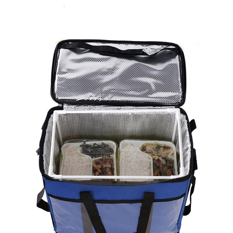 45L große thermische Nahrungsmittelkühltasche Insulated große Kapazitäts Multifunktions- Lunchbox bolsa termica Kühltasche picknick kühlen SH190923
