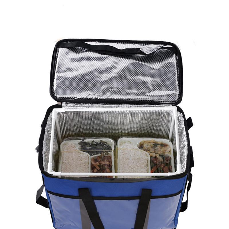 45L grande térmica Alimentos bolso más fresco con aislamiento de gran capacidad multifunción caja de almuerzo bolsa termica más fresco bolsa de picnic SH190923 fresco