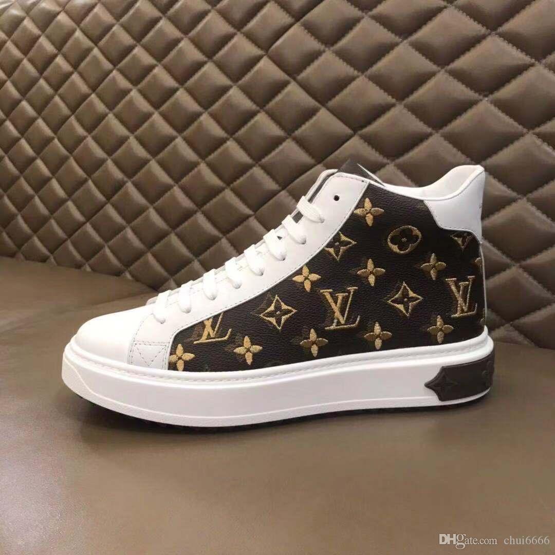 2020W3 nuevos zapatos deportivos de moda salvaje zapatos casuales-top del alto Recorrido al aire libre zapatos corrientes de los hombres de la entrega rápida cómoda Zapatos de hombre