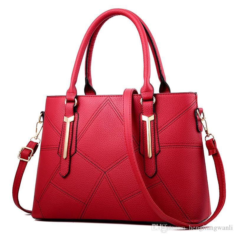 Sac femme 2019 nouveau sac femme version coréenne de sacs à main mode stéréotype doux Messenger sac à bandoulière