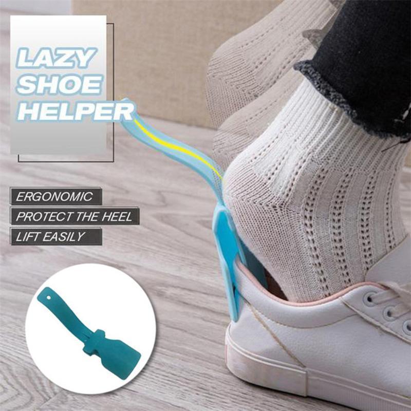 5 / 10PCS preguiçoso sapatos Helper portátil Sock Slider Shoe Manipulados Corno de elevação Helper elevação Chifre fáceis Lifters desgaste