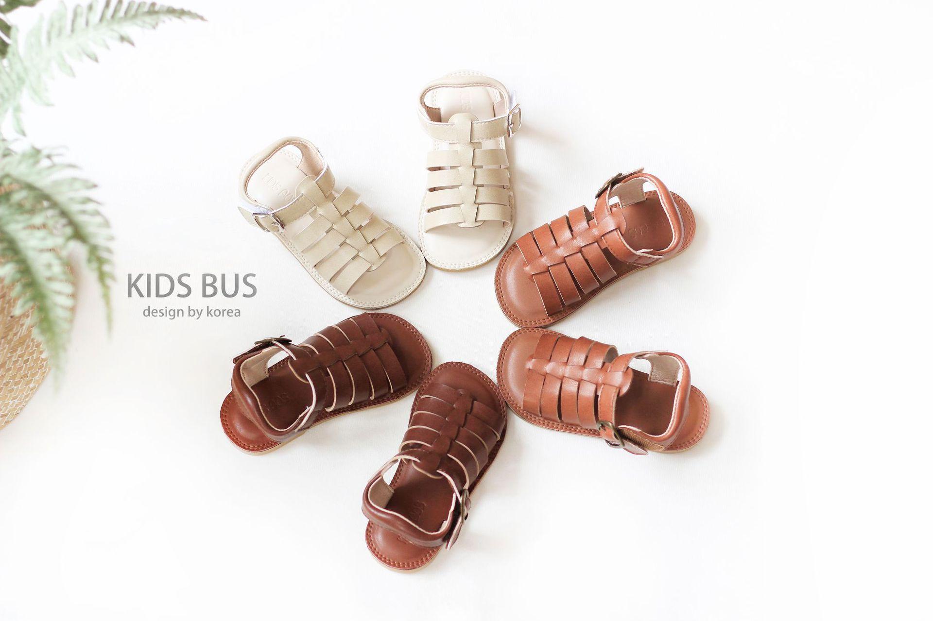 Summer Girls sandals korean style children hollow Roman weaving sandals kids soft leather flat shoes Girls beach shoes A3167