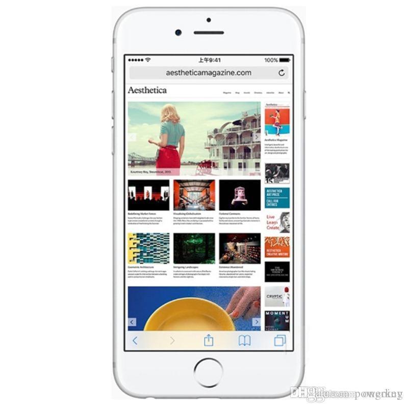 Original Unlocked Apple iPhone 6 Plus 4G LTE Mobile Phones 16GB 64GB 128GB ROM 4.7 5.5 inch iPhone 6p WCDMA IOS NFC Smartphones