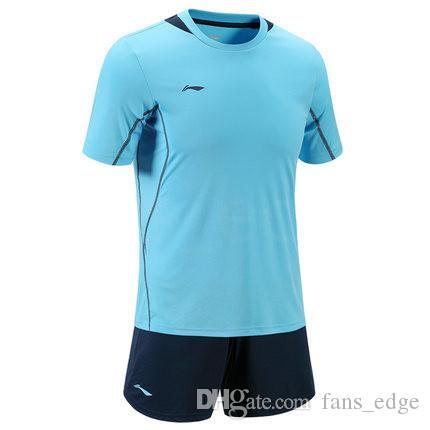 Top Kundenspezifische Fußballjerseys Freies Verschiffen-billig Großhandelsdiskont irgendein Name Jede Zahl anpassen Fußball Shirt Größe S-XXL 845