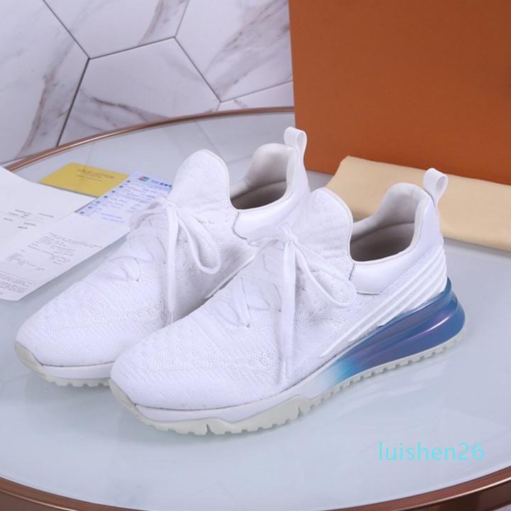2019 haute qualité Designer Designer classique Femmes Mode EATHER confortables Fwild Chaussures Casual Sport Mode Chaussures de jogging étanche L26