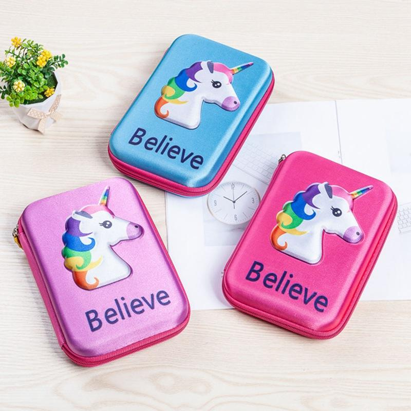 Cute Unicorn School Pencil Case Kawaii