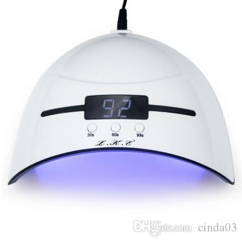 Otomatik Sensör Tırnak Kurutucular ile Lambalar Kür LED Jel Oluşturucu 3 Zamanlı Modu için 36W Tırnak Kurutucu LED UV lambası Mikro USB Tırnak