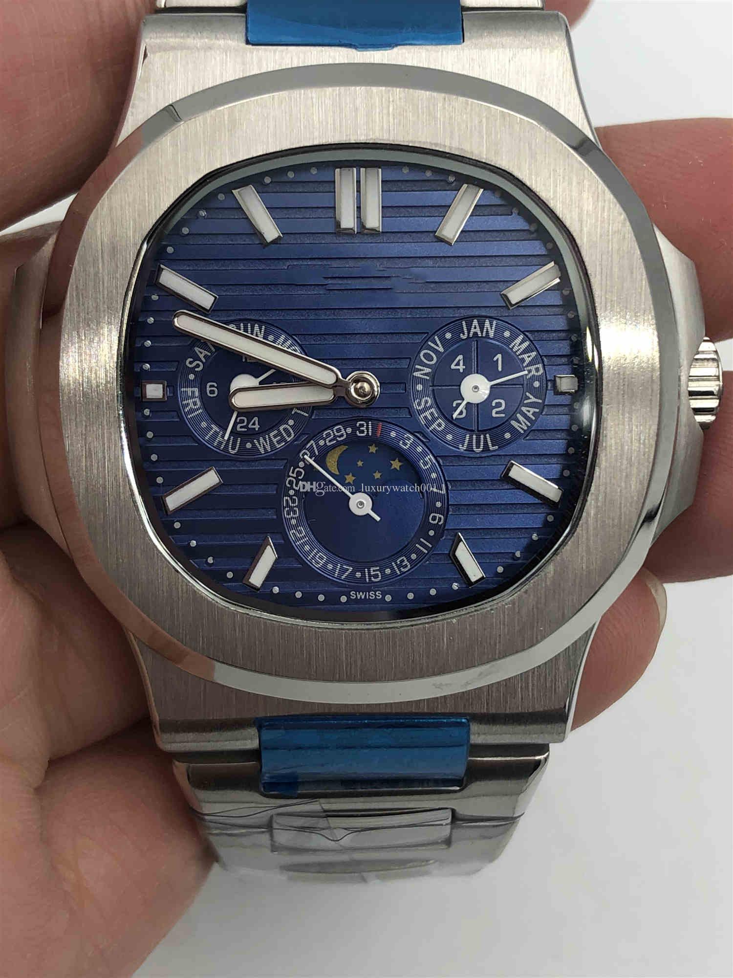2019 venta caliente de los relojes de hombre Relojes de acero inoxidable reloj mecánico automático Movimiento de pulsera hombre de moda deportiva