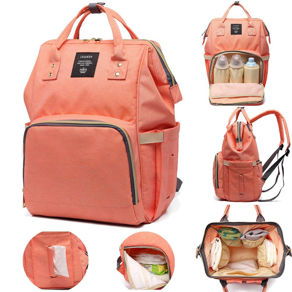 Backpacks For Women Diaper Bags Mummy Maternity Nappy Bags Large Capacity Travel Backpack Designer Multi-pocket Mummy Backpacks Y19051405