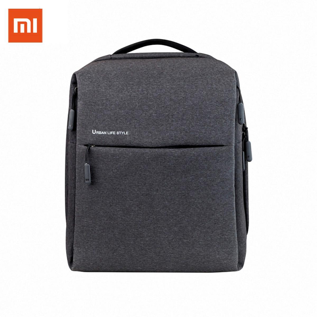 Spalle originale Xiaomi Mi Zaino Vita Urbana stile OL Borsa Zaino Daypack sacchetto di scuola Studente Borsone Borse per notebook da 14 pollici CJ191201