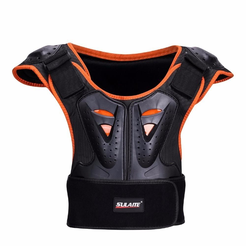 2019 Hot Motorcycle Racing Body Armor Motocross Jacket Off-Road Safety Protection Clothing Chest Spine Protector Gear Children