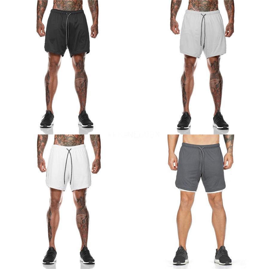 Pantalones cortos de moda masculina de Hombres Pantalones cortos para hombre verano rasgado Jean Shorts Casual drapeado del motorista # 231