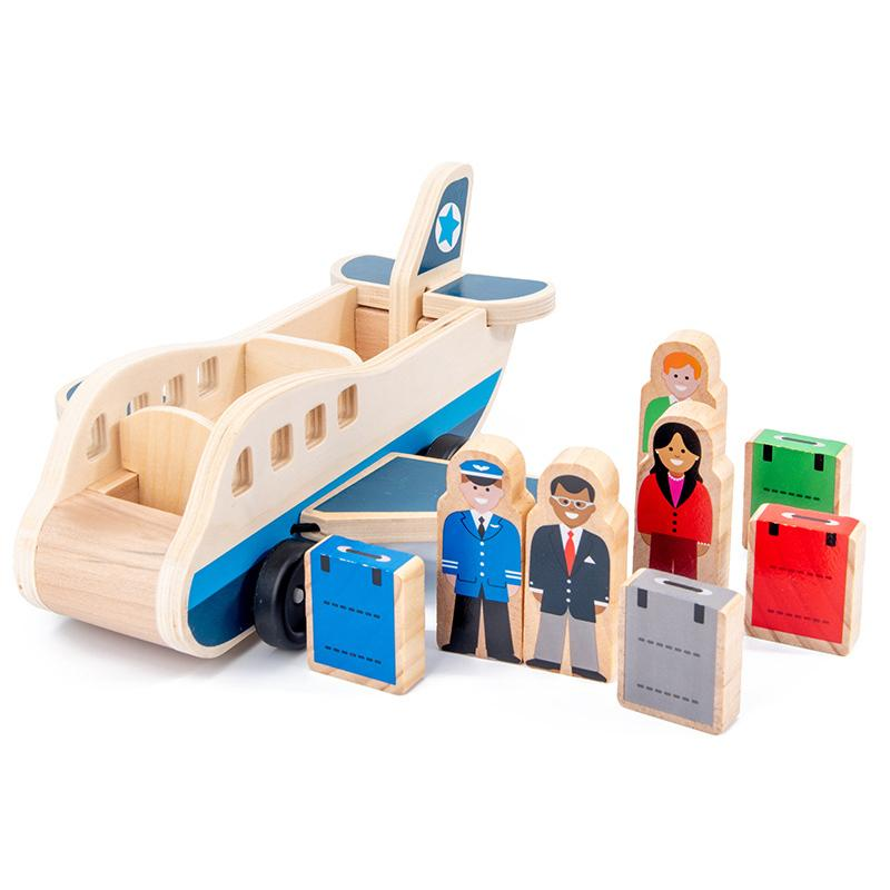Laburuik Children's Jigsaw 3d Puzzle Stereo Intelligence Development Boys Girls Wooden Early Childhood Toys Educational Toys