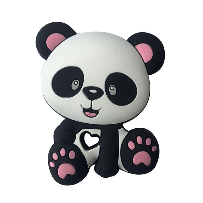 Anxiety Stuffed Animal, 2020 Cute Panda Rabbit Teddy Bear Baby Cartoon Baby Tether Food Grade Silicone Teether Diy Chewable Baby Teething Gift From Qiananshopping 16 89 Dhgate Com