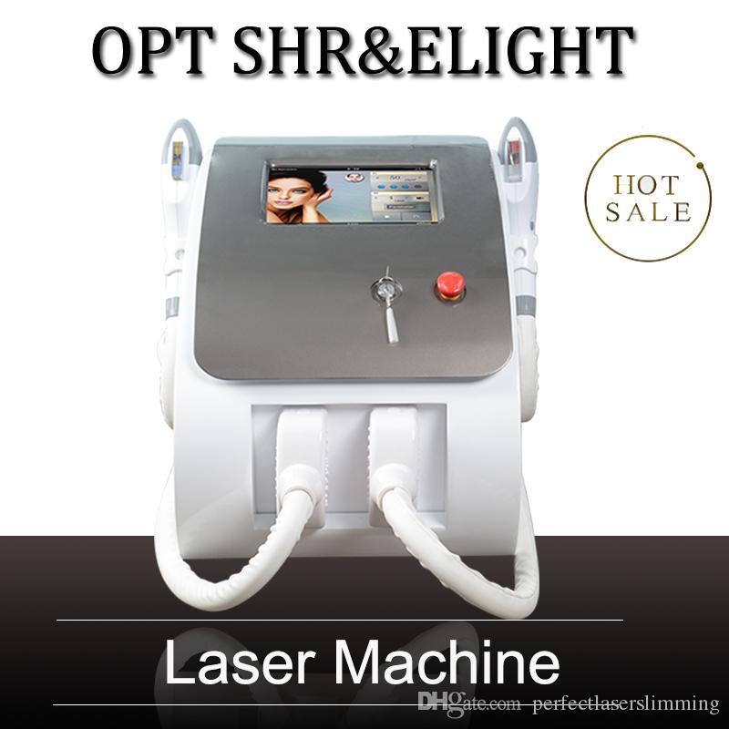 Cabelo eLight Remoção IPL rejuvenescimento da pele Idade Spots remoção beleza do laser IPL com 600.000 tiros