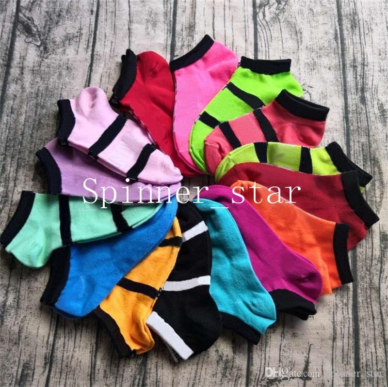 Fashion Ship Socks Letter Color Blocking Socks Quick Dry Cotton Women's Ship Running Socks