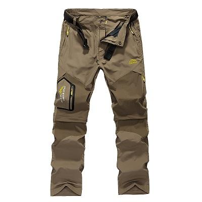 Mens Quick Dry Removable Pants Summer Outdoor Brand Cloting Male Waterproof Pants Men Hiking Camping Trekking Trousers