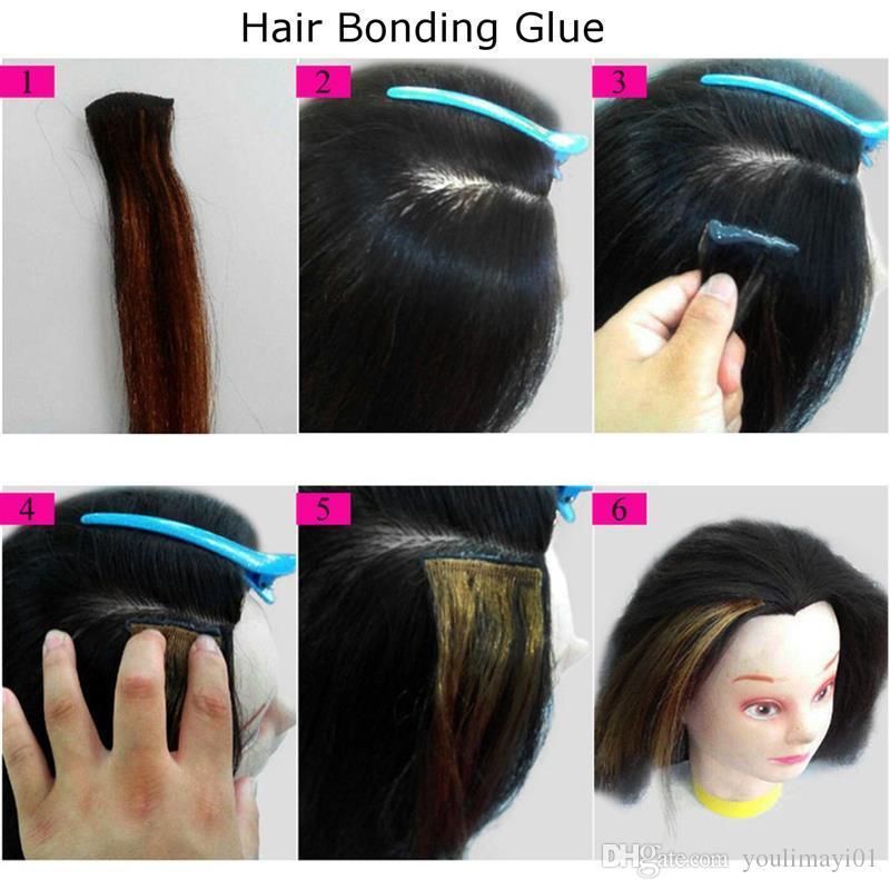 Bonding glue extensions