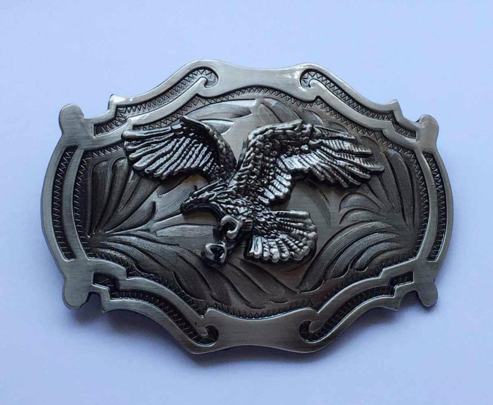 Flying Eagle Western Belt Buckle Gun Metal belt buckles BC-247 Suitable for 4cm wideth belt with continous stock
