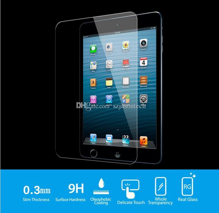 iPad mini 용 유리 보호기 1 2 3 4 iPad Pro iPad Air 2 3 4 9H 경도 프리미엄 강화 화면 예측 필름