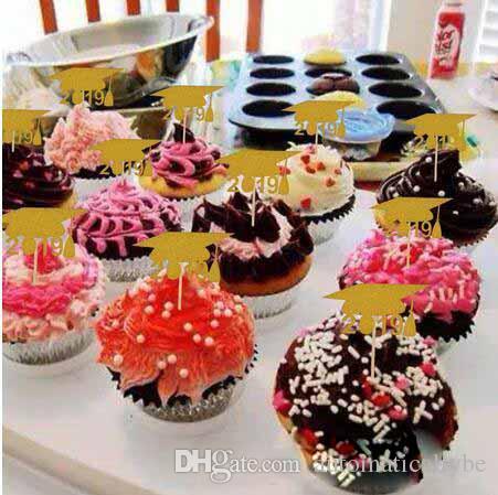 Superb 2020 Graduation Season Doctor Hat Baking Cake Insert Dessert Table Personalised Birthday Cards Beptaeletsinfo
