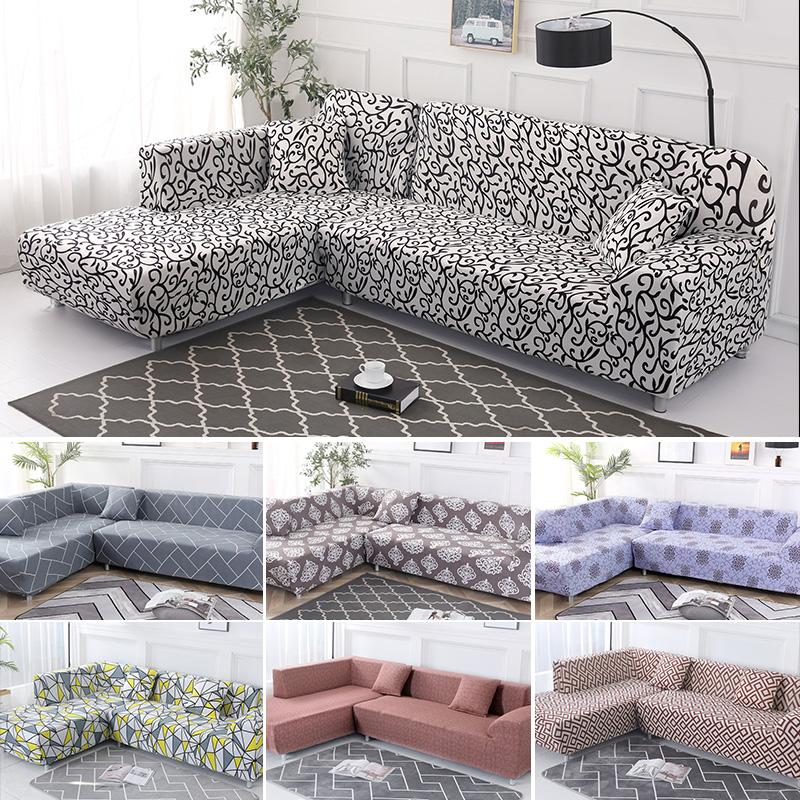 Covers For Corner Sofa Elastic Sofa Cover For Living Room Couch Slipcover  Furniture Protector Stretch Cover L Shape Sofa Seat Covers Online Chair ...