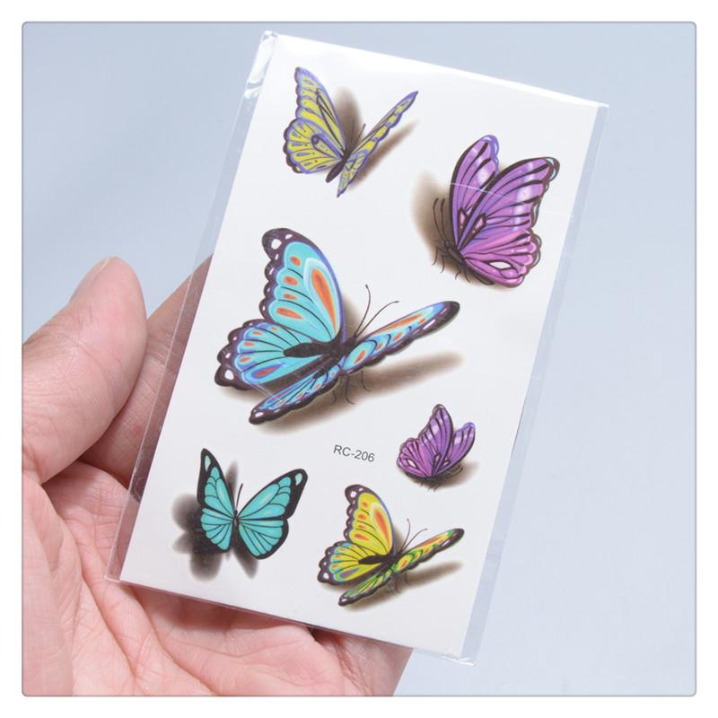 Sexy 3d Tattoos Sticker Butterfly Temporary Tattoos Colorful Body Art Women Sexy Waterproof Durable Non Toxic Transfer Sticker Temporary Face Tattoo Temporary Henna Tattoo From Dhgatesf 0 27 Dhgate Com