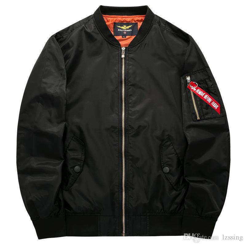 New Brand Jacket Mens Casual Men Pilot Blouson Hip Hop Male Big Taille S à 7XL 8XL Pardessus Drop Shipping