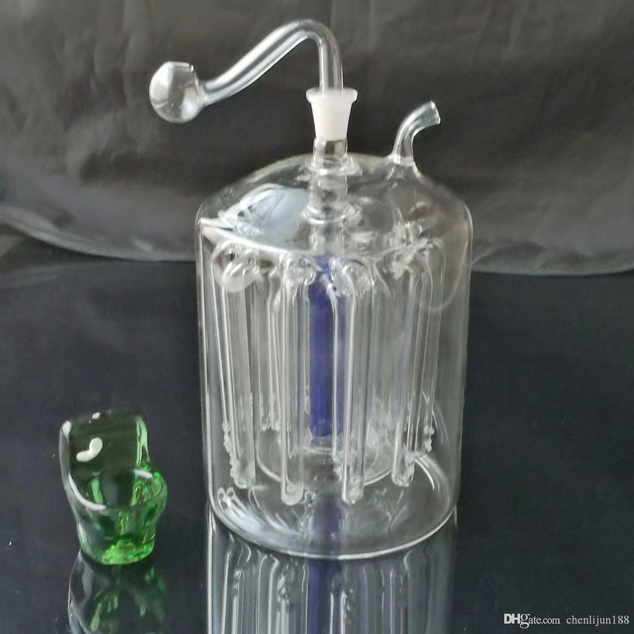 Супер 16 коготь немой кальянный фильтр, стеклянные бонги, оптовые трубы для воды, стеклянные трубы, буровые установки для курения, бесплатная доставка