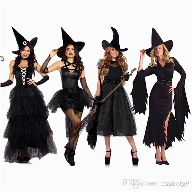 Halloween Sexy Witch Costumes Adult Women Queen parties Carnival Party years eve party Cosplay Fancy Dress