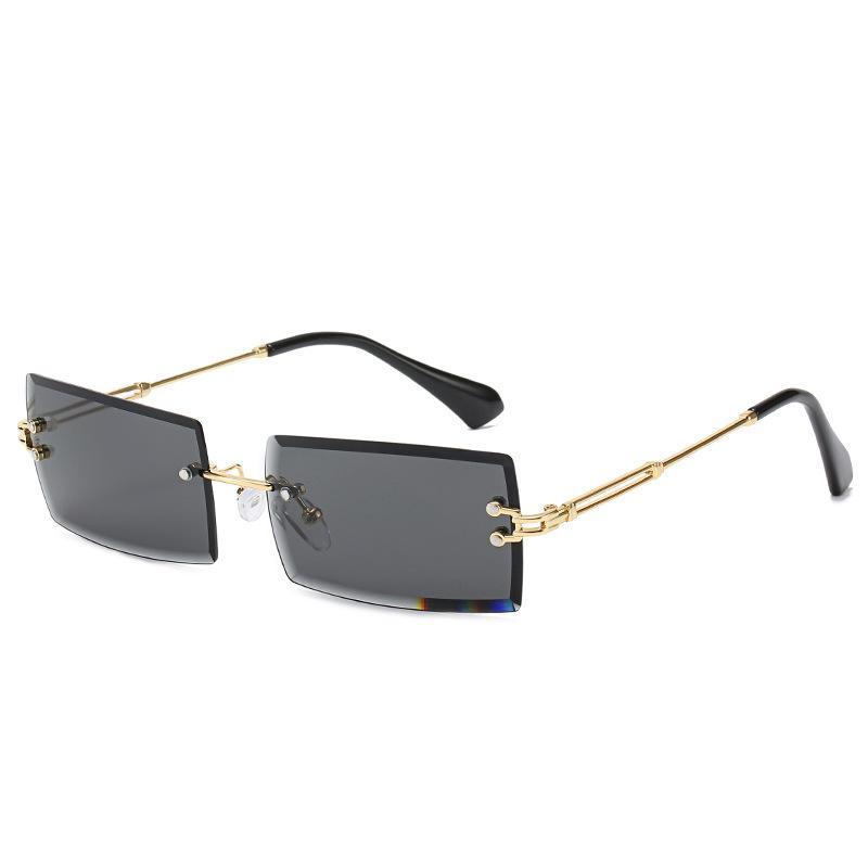 أعلى جودة 2020 كول خفيفة الملتصقة رجل إمرأة فاخر مصمم النظارات الشمسية النظارات الشمسية الشعبية مستطيلة 100٪ حماية من الأشعة فوق