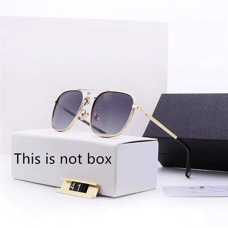 نظارات رجالي الصيف عدسة مكبرة شاطئ الزجاج للمرأة رجل Adumbral نظارات UV400 مع صندوق جودة عالية P41 5Color جديد حار