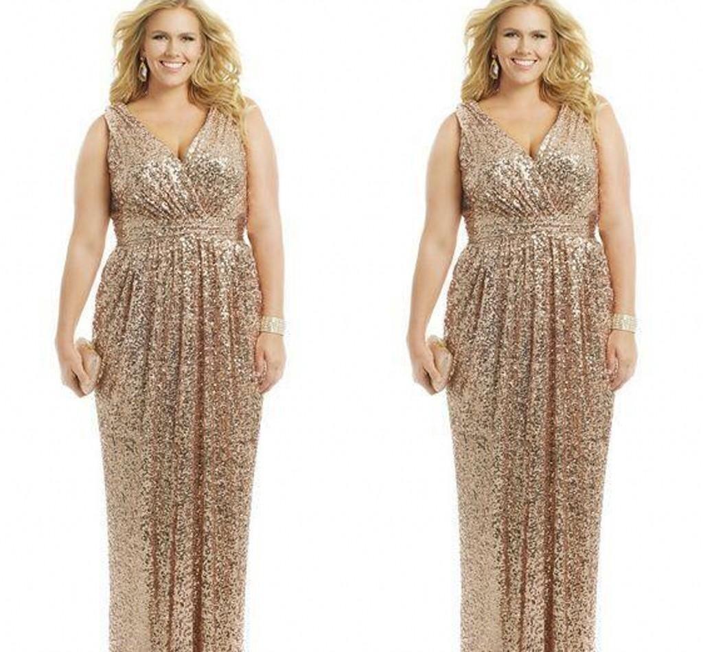 Sequins uzun anne gelin elbise artı boyutu kadınlar için kadınlar için akşam yemeği elbiseler özel yapımı