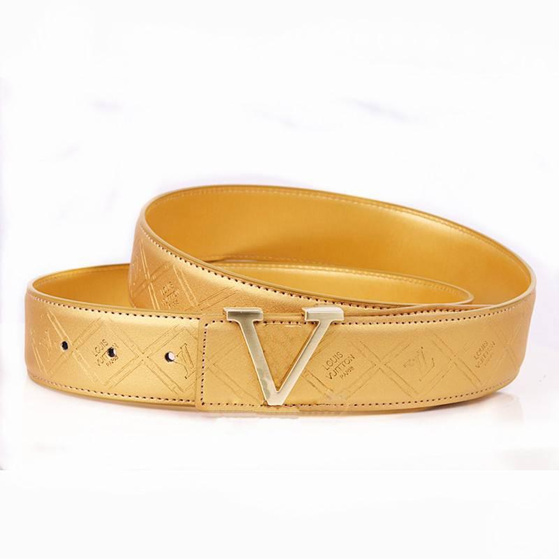 Brand L Designer Belts for Men and Ladies Genuine Leather Unisex Ceintures de designer cintura di design cinturones de diseno
