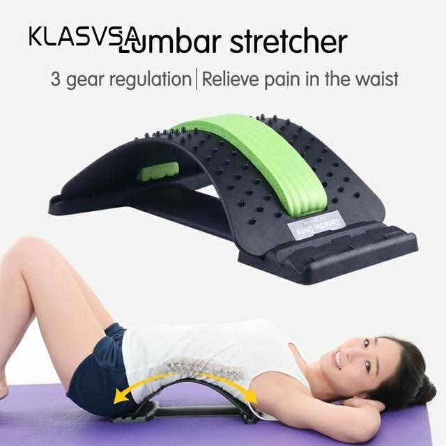 Magia Relief eauty Salute KLASVSA Torna barella per massaggi al collo della vita di dolore di sostegno Massaggi casa stimolatore muscolare rilassamento fitness Equ ...