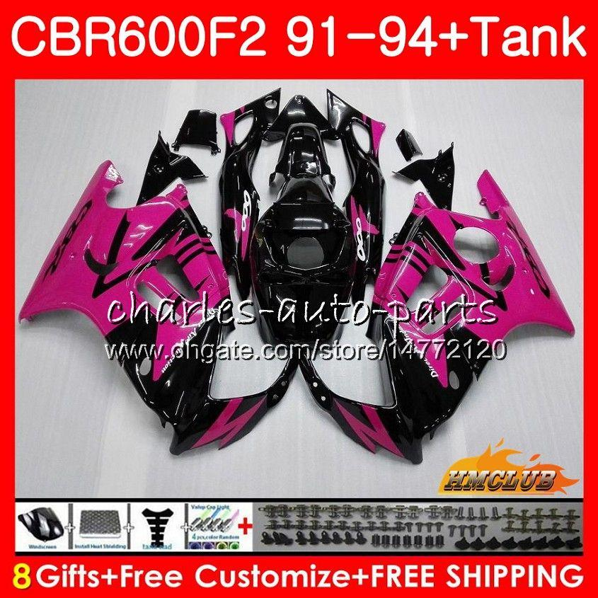 Cuerpo + Tanque En HONDA CBR 600F2 CBR 600 FS 1991 1992 1993 1994 40HC.133 CBR600FS 600cc CBR600 F2 CBR600F2 aumentaron F2 negro 91 92 93 94 carenados