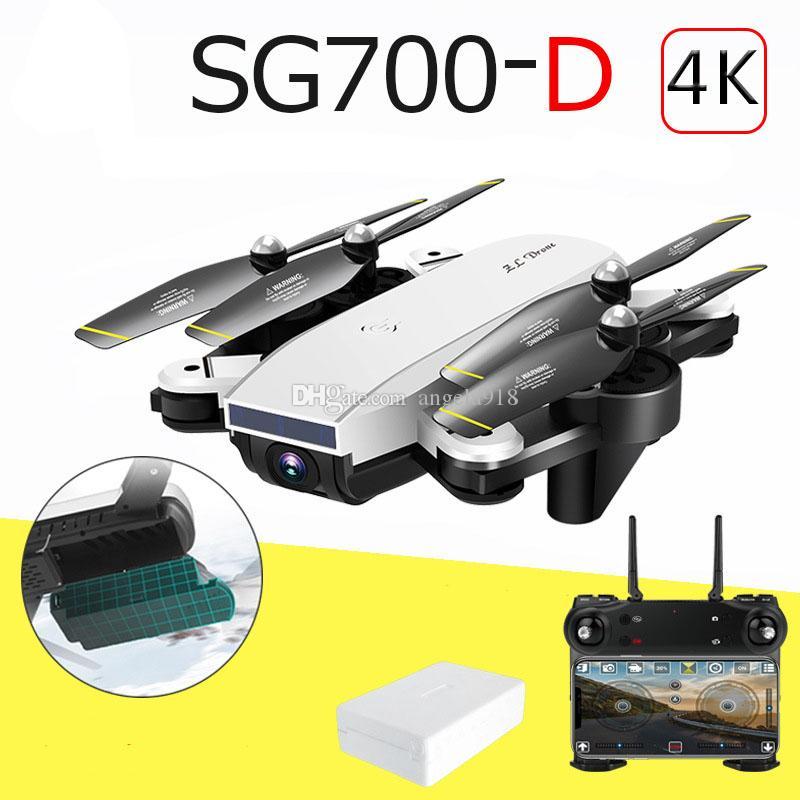 Sg700는 UAV 긴 항공 광학 플로우 4K 전문 HD 듀얼 카메라 항공 MV photography 네 개의 축 평면 P164 접는