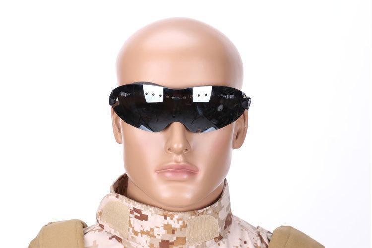 OriginalMultifunctional Taktik Kask Süspansiyon Gözlükler Açık Spor Binme Tırmanma Saha Koruyucu Güvenlik Windproof Gözlük