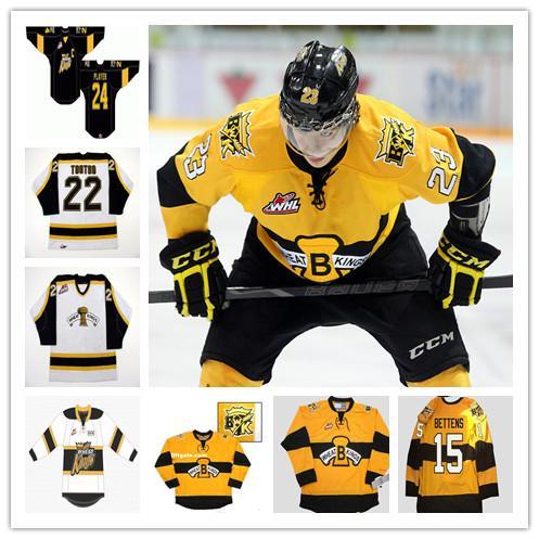 2021 Brandon Wheat Kings College Jerseys Hockey 9 Ivan Provorov 27 ...