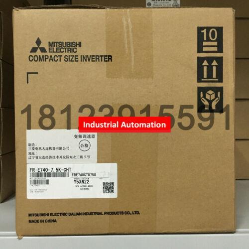 NOUVEAU DANS LA BOÎTE Mitsubishi Convertisseur de fréquence FR-E740-7.5K-CHT 7.5KW 380V