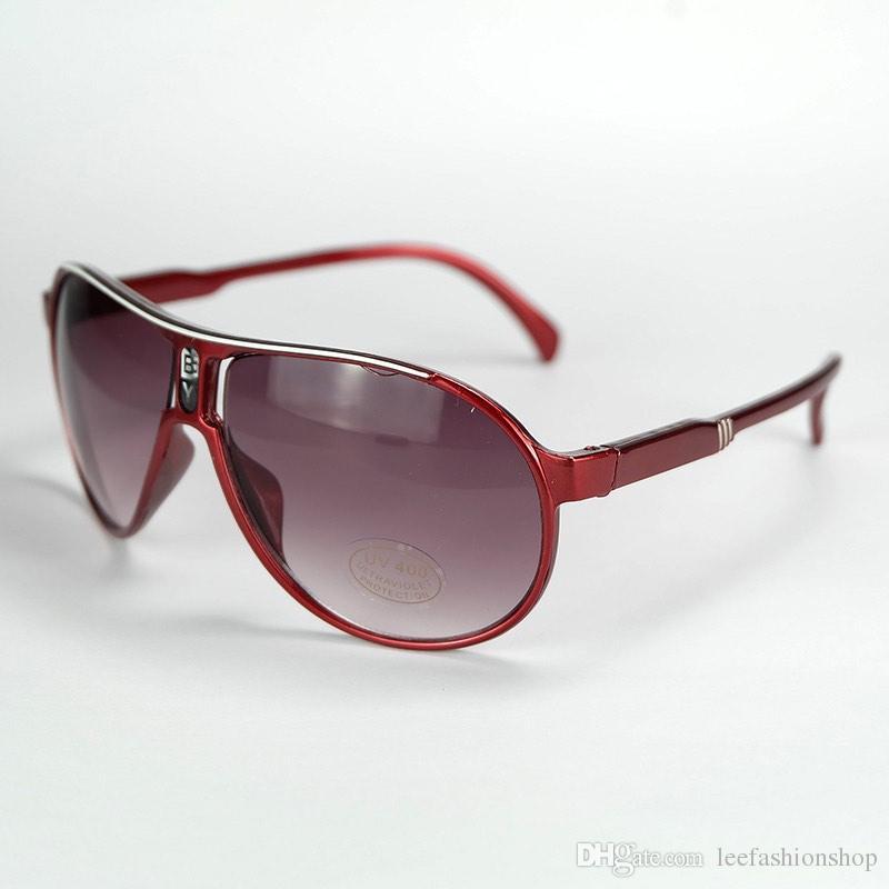 2019 موضة النظارات الشمسية طفل بنين بنات أطفال نظارات شمس خمر الأطفال البلاستيك إطار نظارات 6 ألوان HL16B