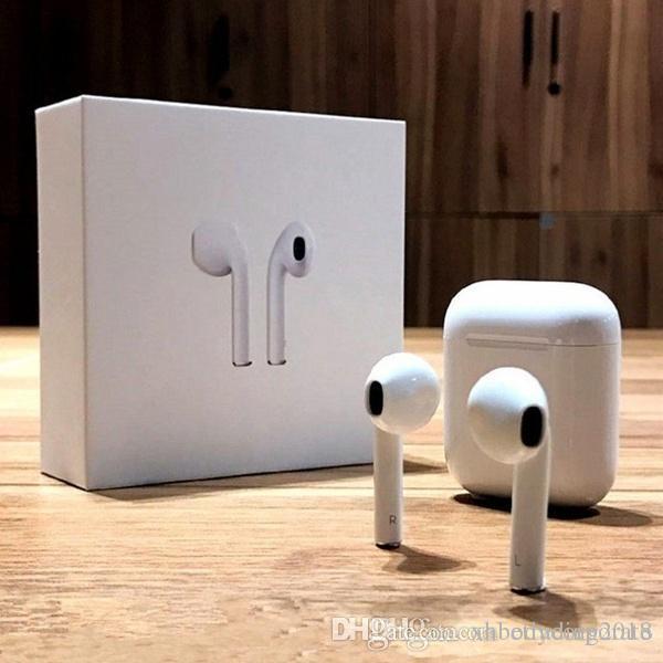 سماعات الأذن البسيطة بلوتوث اللاسلكية سماعات Headphons مع الشحن مربع للهواتف الذكية