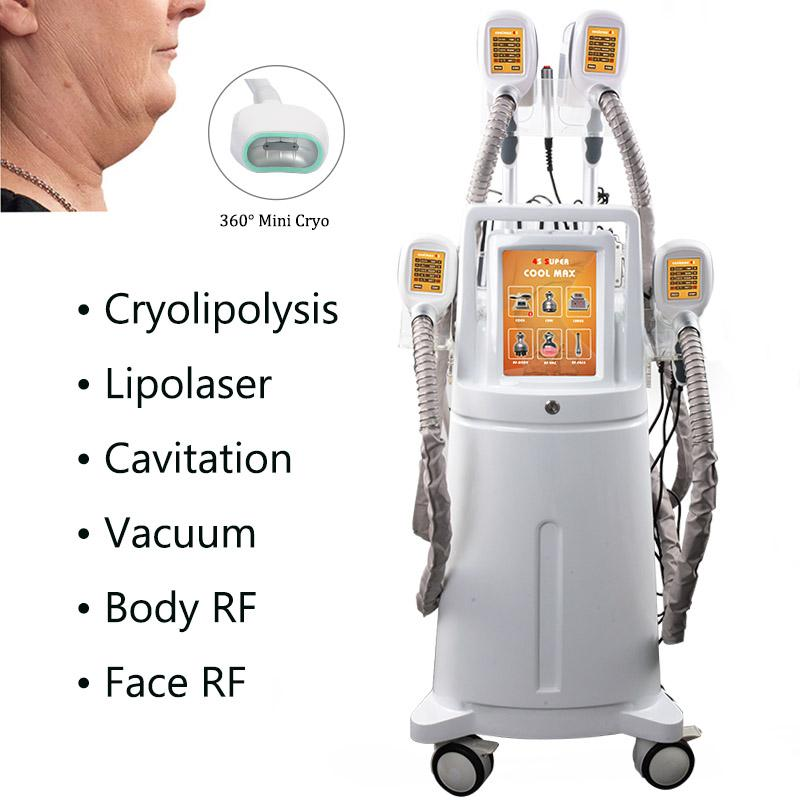 High end Cryolipolysis Fat Freeze Slimming Machine 360 Cryo Freezing Fat Criolipolisis Body Contouring Laser Lipolysis Equipment