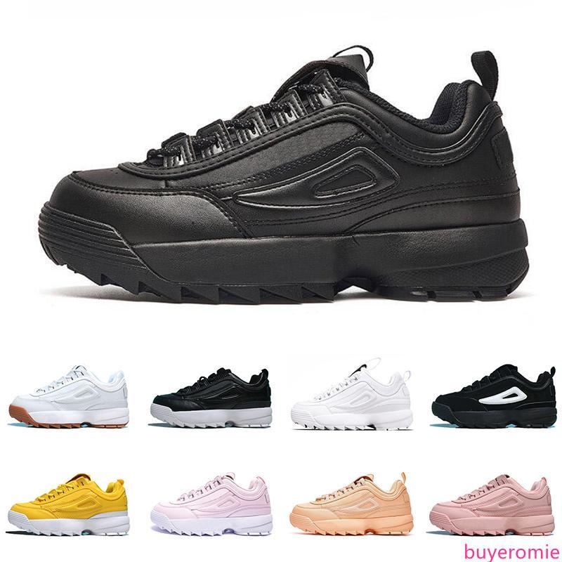 scarpe da ginnastica scarpe di lusso della moda per uomo donna tripla bianco nero in pelle rosa Altezza piattaforma scarpa casuale dimensioni crescenti 36-44