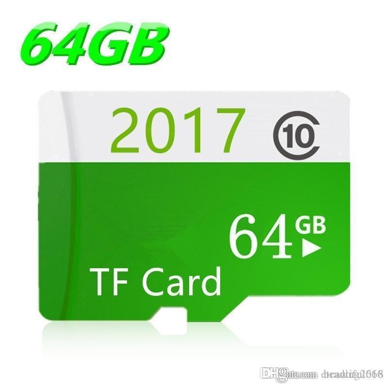 Diseño de la venta caliente de alta velocidad Tarjetas TF tarjeta de Clase 10 SDHC Micro SD + regalos 16GB 32GB tarjeta de memoria de 64 GB para el teléfono / tableta / cámara