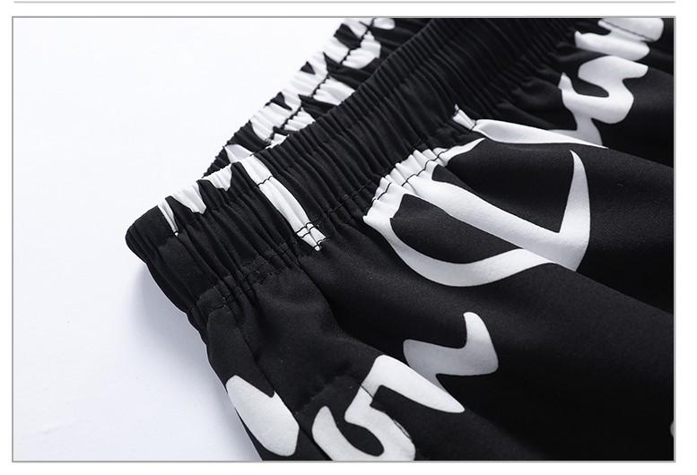 Luxo Mens Designer Calças Curtas Moda Marca carta cheia Imprimir Verão Casual Sports cordão Shorts com Logos L-5XL