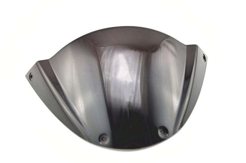 Moto parabrezza paraventi doppia forma di bolla per Monster 696 2009-2013 10 11 12 13 nera ABSeqq00035